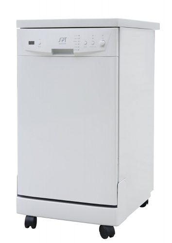 SPT SD-9241W Energy Star Portable Dishwasher, 18-Inch, White - Countertop Dishwasher