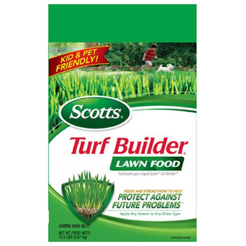 Scotts Turf Builder Lawn Food, 15,000-sq ft. (Lawn Fertilizer)