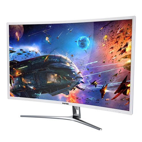 "VIOTEK NB32C 32"" LED CURVED COMPUTER MONITOR -1920 x 1080p monitor with 60hz refresh rate - Touch Screen Monitor"