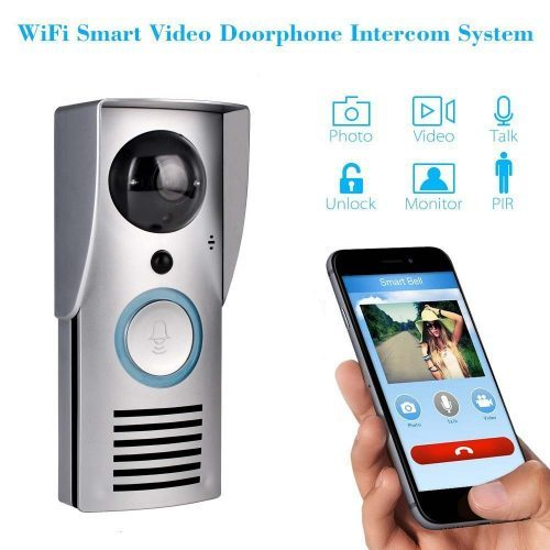 Wireless Video Doorbell, Wireless Wi-Fi Remote 10.0 MP Pixel Unlock - Wireless Doorbells