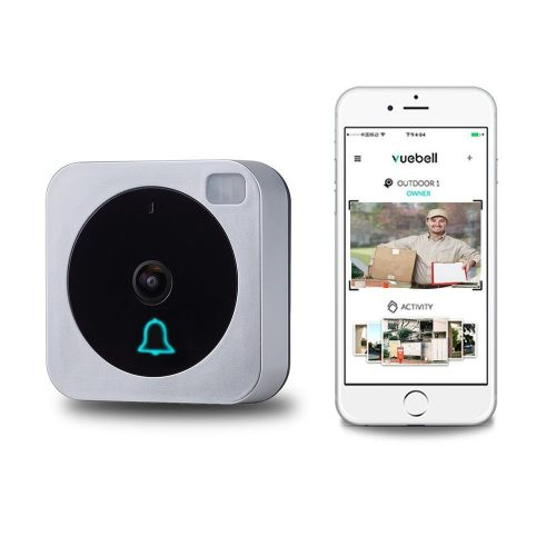 Wireless Wifi Video Doorbell, Vision AC 8-24V DC 9-36V (Hard Wire Version) - Wireless Doorbells