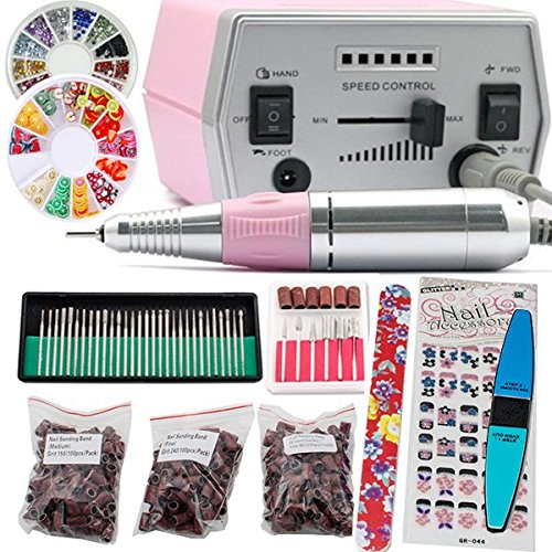 iMeshbean Colorful Complete Professional Electric Nail Drill - Electric Nail Drills