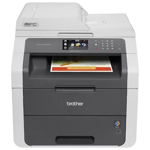 Brother MFC9130CW Wireless All-In-One Printer with Scanner, Copier and Fax, Amazon Dash Replenishment Enabled - best color laser printers