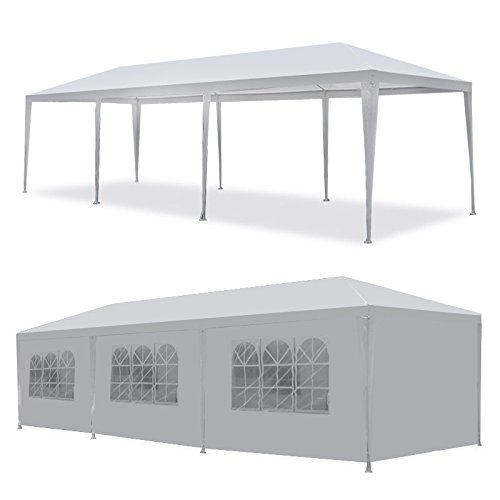 10'x30' Party Wedding Outdoor Patio Tent Canopy Heavy duty Gazebo Pavilion -5 - Party Tents