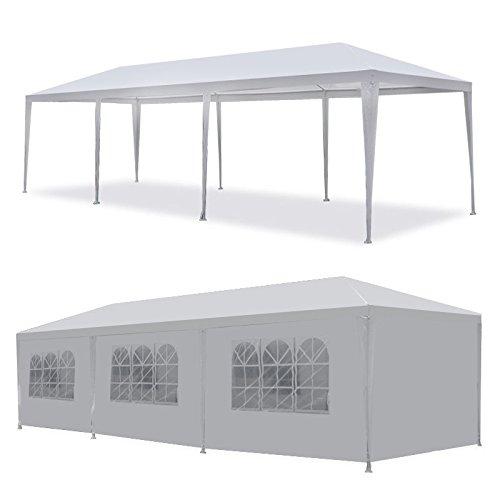 10'x30' Party Wedding Outdoor Patio Tent Canopy Heavy duty Gazebo Pavilion -5 - Party Tents