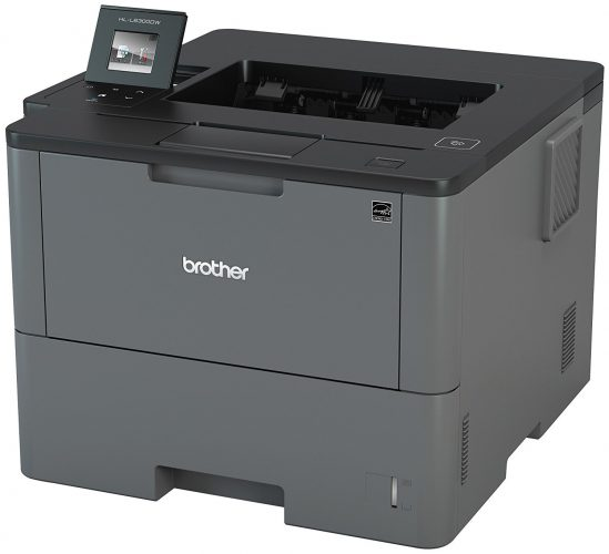 Brother HLL6300DW Business Laser Printer for Mid-Size Workgroups with Higher Print Volumes, Amazon Dash Replenishment Enabled - best color laser printers