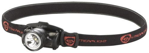 Streamlight 61400 Enduro Impact Resistant Headlamp with Elastic Strap, Black - Hard Hat Lights