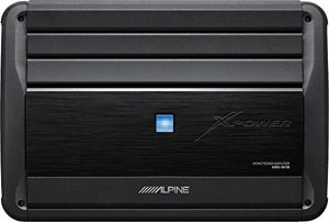 Alpine MRX-M110 Monoblock Subwoofer Amplifier - Car Amplifiers
