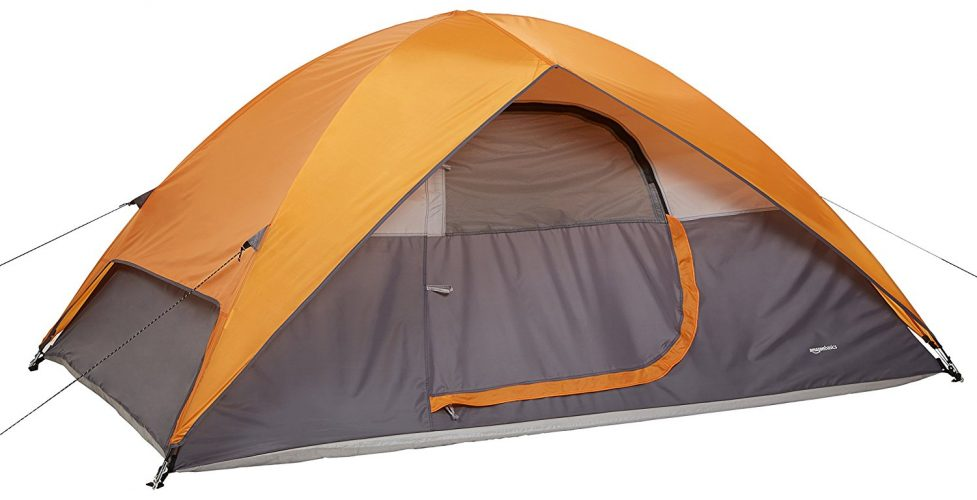 AmazonBasics Tent 8 Person - best family tents
