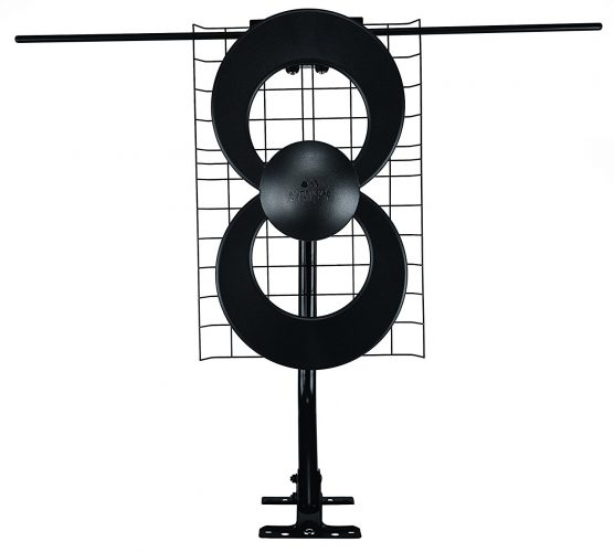 Antennas Direct Clearstream Indoor/Outdoor HDTV Antenna with Mount – 60 Mile Range - long range outdoor HDTV antenna