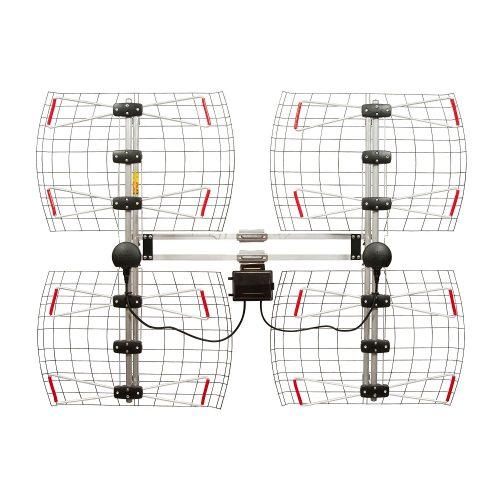 Element Bowtie Indoor/Outdoor HDTV Antenna – 70 Mile Range - long range outdoor HDTV antenna