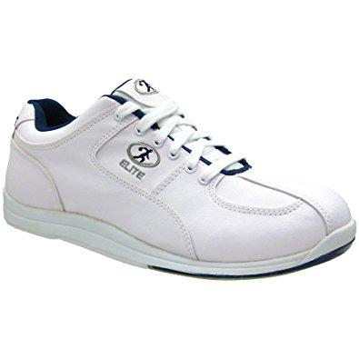 Elite Atlas White/Blue Bowling Shoes - Men Bowling Shoes