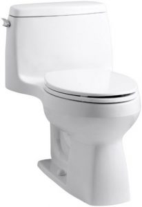 KOHLER 3810-0 Santa Rosa Comfort Height Elongated 1.28 GPF Toilets