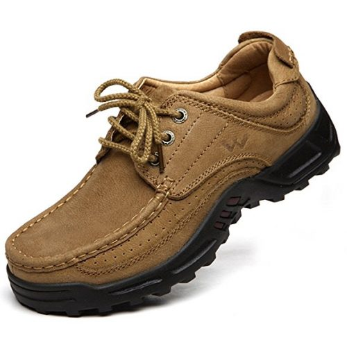 Men's Casual Walking Shoes Made with Superior Leather - Perfect for Outdoor Activities, Work, Play, Hiking and Formal Occasions - Breathable Sports Lace uploaded with Fashion - walking shoes