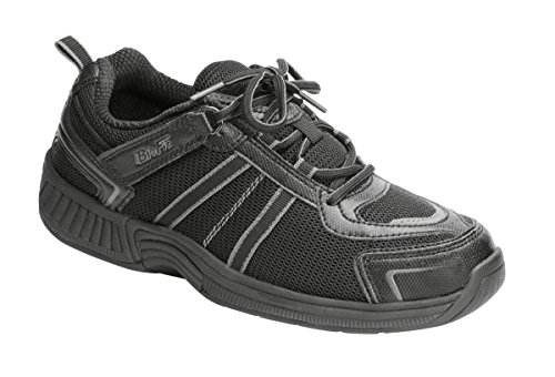 Orthofeet Monterey Bay Comfort Diabetic Wide Arthritis Orthotic Men's Sneakers Velcro - walking shoes