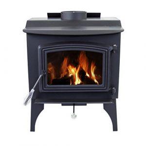 Pleasant Hearth 1200sq.Ft Wood Burning Stove - Pellet Stoves