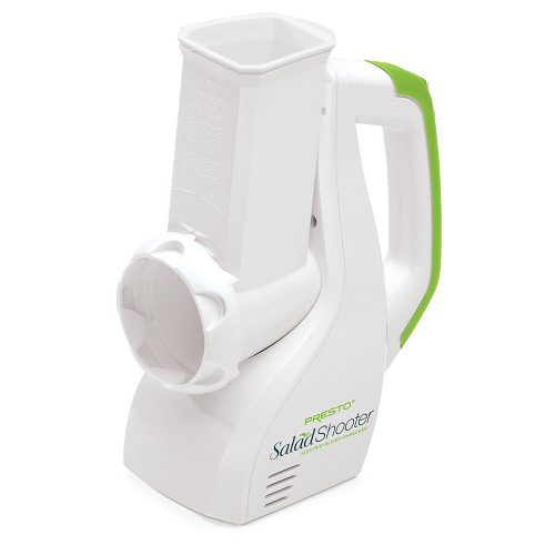 Presto 02910 Salad Shooter Electric Slicers/Shredder - Cheese graters