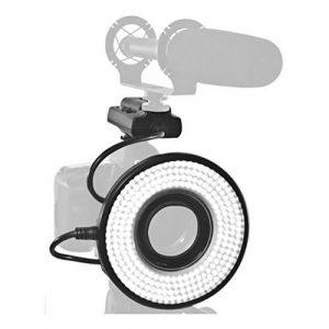 Stellar Lighting Systems STL-232R LED Ring Light for DSLR Cameras - On-Camera LED Lights