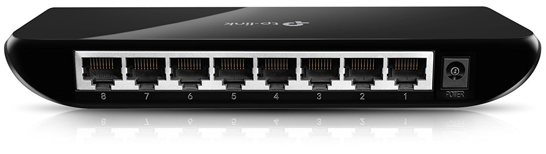 TP-Link 8-Port Gigabit Ethernet Unmanaged Switch/ Plug and Play/ Desktop (TL-SG1008D) - Best Ethernet switches