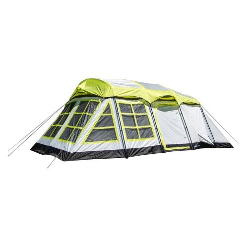 Tahoe Gear Glacier 14 Person 3-Season Family Cabin Camping Tent with Rain Fly - best family tents