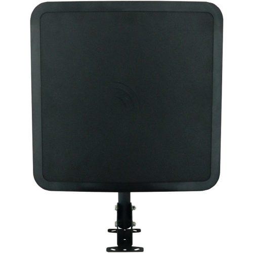 Winegard FlatWave Air Amplified Digital Outdoor HDTV Antenna (4K Ready, High-VHF, UHF, Black) - long range outdoor HDTV antenna
