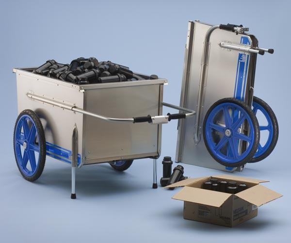 Tipke 2100 Marine Fold-It Utility Cart-Garden Carts