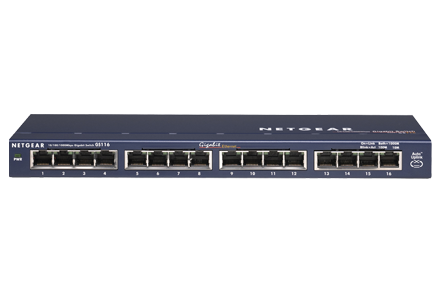 Netgear ProSafe GS116NA 16-Port Gigabit Ethernet Switch (GS116NA) - Best Ethernet switches