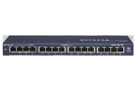 Netgear ProSafe GS116NA 16-Port Gigabit Ethernet Switch (GS116NA) - Best Ethernet switches