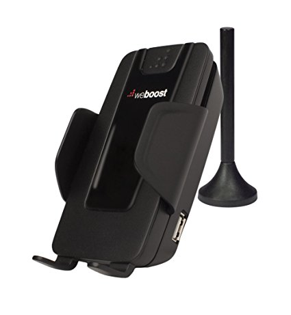weBoost Drive 4G-S Cell Phone Signal Booster Cradle Mount Holder for Car, Truck and RV Use - Enhance Your Signal up to 32x. For Single Device - Cell Phone Signal Boosters