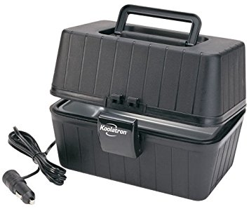 Koolatron LBS-01 Black 12 Volt Lunch Box Stove - electric heated lunch boxes