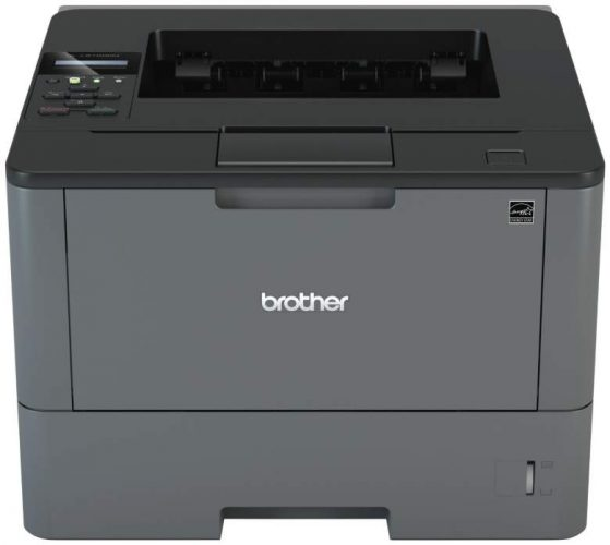 Brother HLL5100DN Business Laser Printer with Networking and Duplex, Amazon Dash Replenishment Enabled - best color laser printers