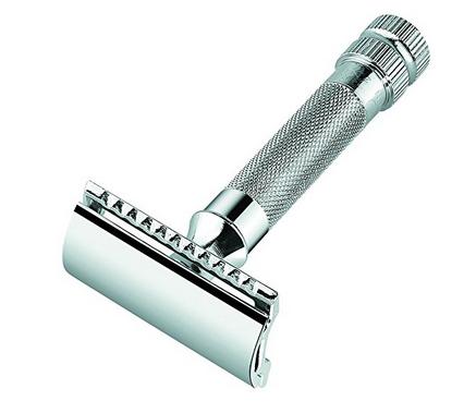Merkur Heavy Duty Double Edge Razor (Blade Included) - Double Edge Safety Razors