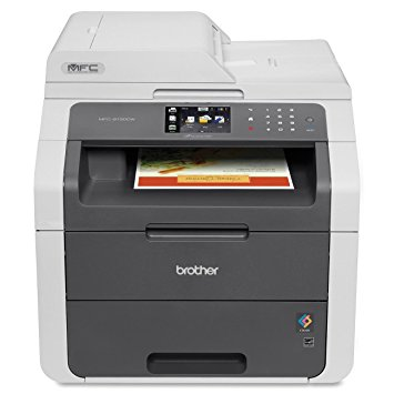 Brother MFC9130CW Wireless All-In-One Printer with Scanner, Copier and Fax, Amazon Dash Replenishment Enabled - Color Laser Printers