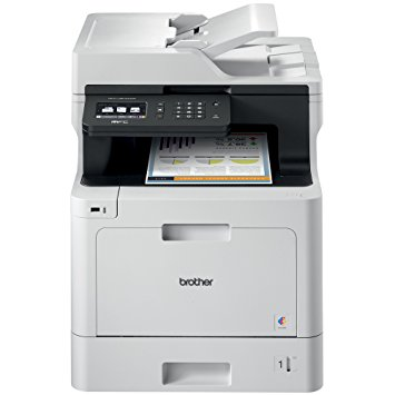 The Brother Printer MFCL8610CDW Business Color Laser All-in-One with Duplex Printing and Wireless Networking, Amazon Dash Replenishment Enabled - Color Laser Printers