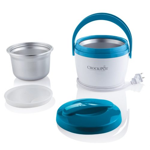 Crock-Pot SCCPLC200-BL 20-Ounce Lunch Crock Food Warmer, Blue - electric heated lunch boxes