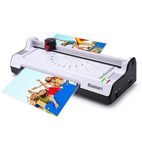 3 in 1 Blusmart BL01 Laminator Set Machine with Rotary Paper Trimmer & Cutter & Corner Rounder Thermal and Cold Laminating - Laminating Machines