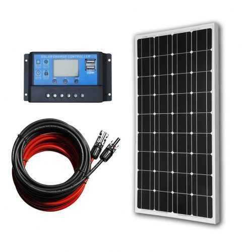 ECO-WORTHY 100 Watts 12 Volts Monocrystalline Solar Panel - Monocrystalline Solar Panels