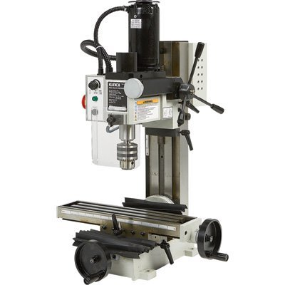Klutch Mini Milling Machine - 110V, 350 Watts, 3/4 HP - Milling machines