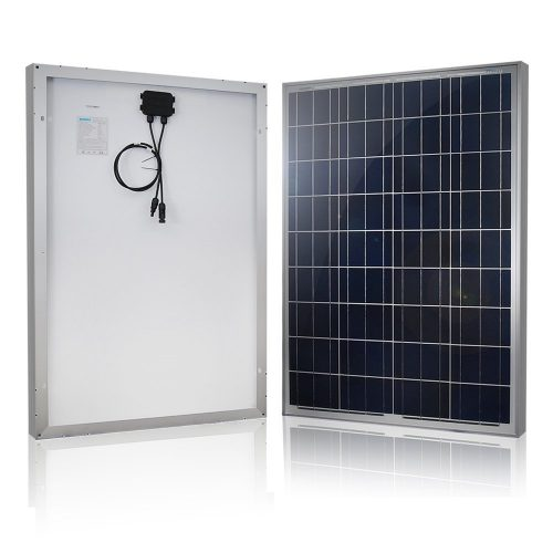 Renogy 100W Polycrystalline Photovoltaic PV Solar Panel Module - Monocrystalline Solar Panels