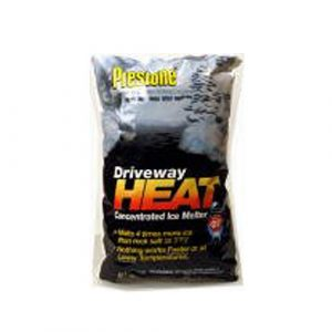 Scotwood Industries 20B-HEAT Prestone Driveway Heat Concentrated Ice Melter, 20-Pound - Ice Melters