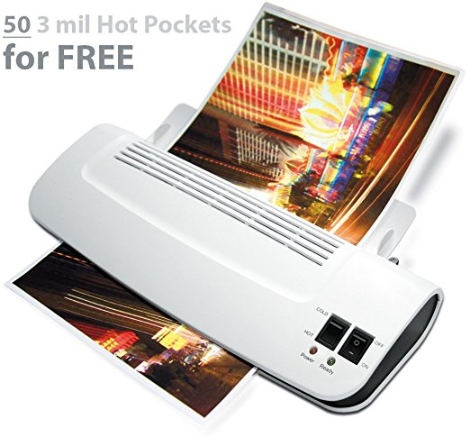 "Zoomyo 9"" Hot & Cold Laminator Z9-5 