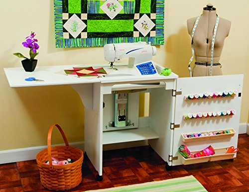 8501 SEWNATRA SEWING CABINET FROM ARROW CABINET (WHITE)- SEWING CABINET