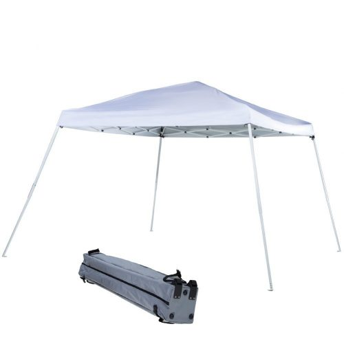 ABBA PATIO, 12 x 12 ft FOLDING CANOPY SLANT LEG POP UP INSTANT CANOPY - Tents