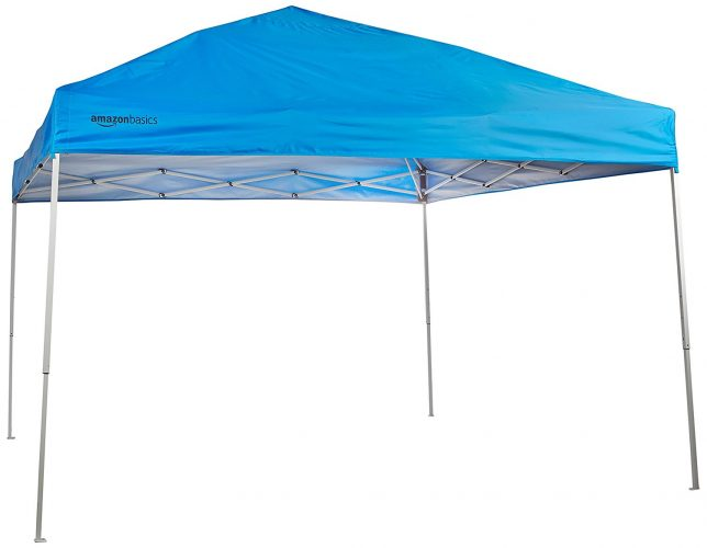 AMAZON BASICS POP-UP CANOPY TENT (10 X 10 ft) - Tents