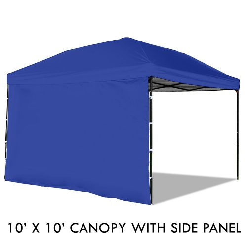 POP-UP CANOPY TENT WITH SIDEWALL (10 X 10 ft) - Tents