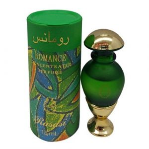 Romance Roll-on - Arabian Designer Essential Perfume Oil Fragrance - Long Lasting Attar / Itar / Ittar - Alcohol Free - for Men and Women - Hombre y Mujer - Exquisite glass bottle Roller - Men's Lasting Perfumes