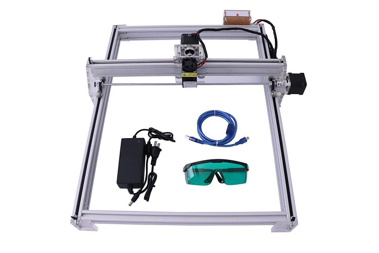SUNWIN 40X50CM 12V USB Desktop Laser Cutting/Engraving Machine DIY Logo Picture Marking (500MW) - laser engraving machine