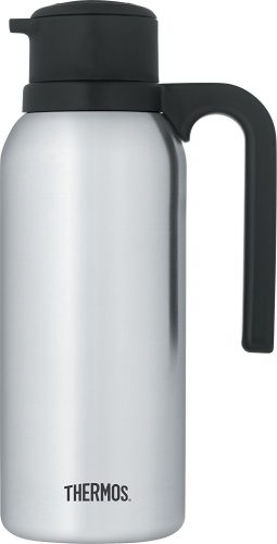 Thermos, 32 Ounce Vacuum, Insulated Stainless Steel Carafe - Thermal Carafes