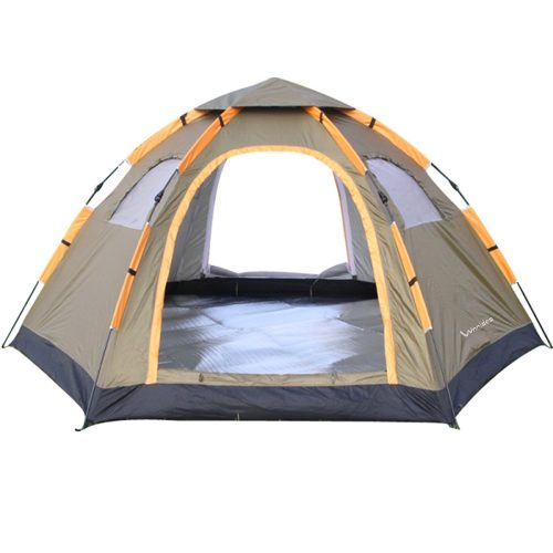 WNNIDEO AUTOMATIC TENTS FOR CAMPING 2 TO 4 PERSON POP-UP TENT INSTANT FAMILY TENT FOR HIKING BEACH OUTDOOR - Tents