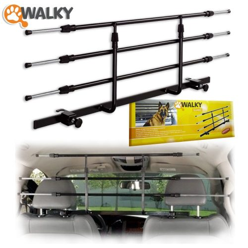 Walky Guard Adjustable Car Barrier for Pet Automotive Safety - Dog Car Barriers